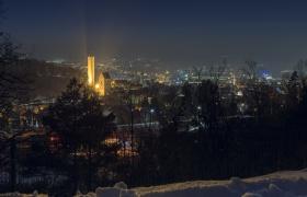 Ravensburg im Abenddunst