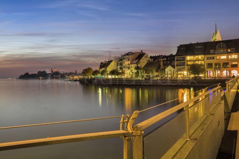 Abendstimmung in Friedrichshafen