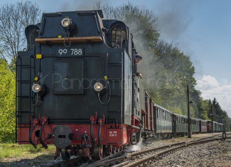 Die Lok Berta, Ausfahrt Warthausen