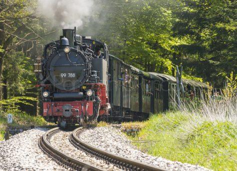 Die Lok Berta von Ochsenhausen