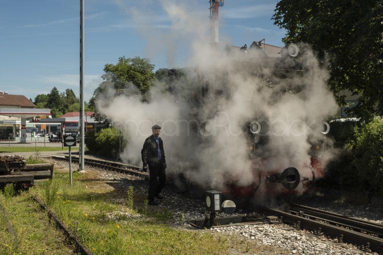 Lok Mallet auf der Öchsle-Bahn, Oberschwaben