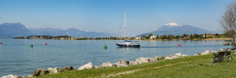Sirmione Colombare, Hafenausfahrt
