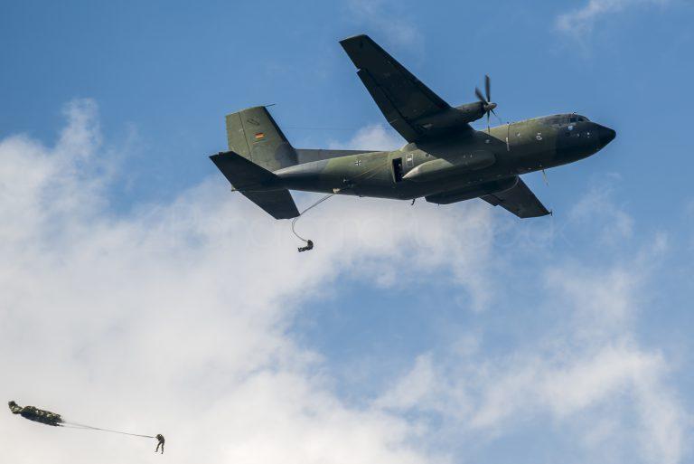 Sprungdienst der Bundeswehr über Altshausen