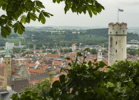 Turm Mehlsack von Ravensburg, Oberschwaben