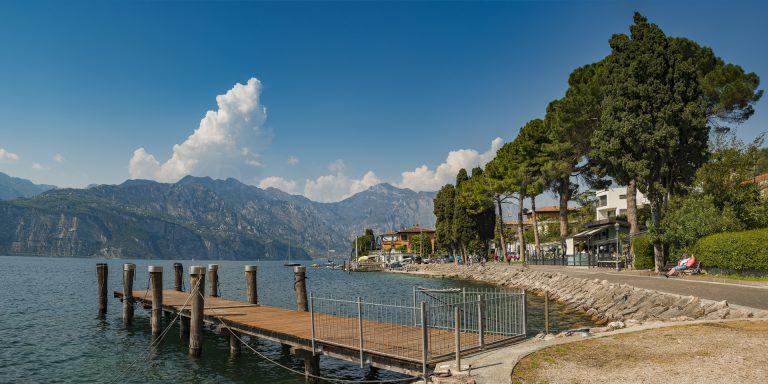 Uferpromenade Malcesine am Gardasee