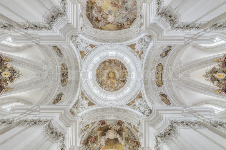 Deckenbemalung Basilika St. Martin, Weingarten